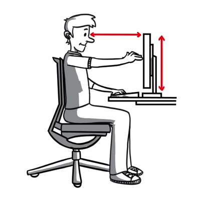 Resultado de imagen para ergonomia en la oficina