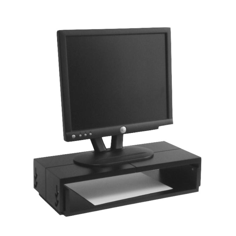Mesa graduable a 5 alturas 34 cm para computador ref - Elevador monitor ikea ...